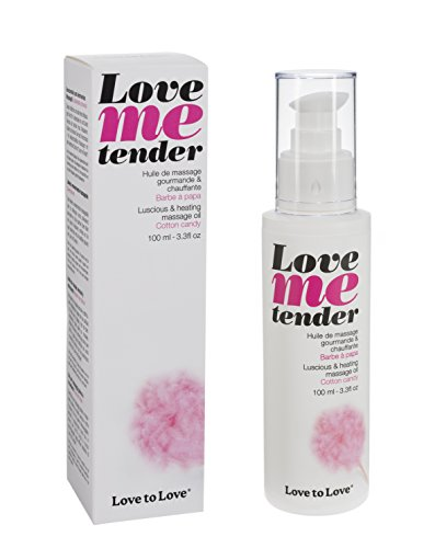 LOVE TO LOVE Love Me Tender Huile de Massage Barbe à Papa 100 ml