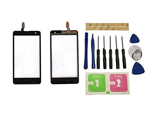mia 625 Touchscreen Display Digitizer Glas Schwarz Bildschirm Frontglas (Ohne LCD) Ersatzteile & Werkzeuge & Kleber ()