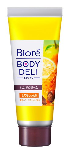 Kao Biore BODY DELI | Hand Cream | Richness Hand Butter Very SHITTORI(Moist) 70g (japan import)