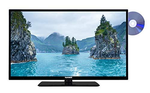 Telefunken XH32E411D 81 cm (32 Zoll) Fernseher (HD-Ready, Triple Tuner, Smart TV, DVD-Player)
