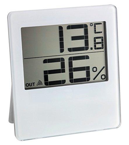 TFA Dostmann Chilly Funk-Thermo-Hygrometer, Außentemperatur, Luftfeuchtigkeit, Innenklima, Frostsymbol
