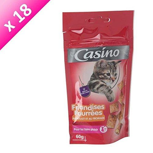 casinò dolciumi al pollo e al formaggio-per gatto-60g (X18)