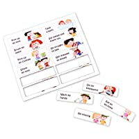 12 Magnetic Activities in English for aeioubaby Reward Chart | Educational Game Positive Reinforcement