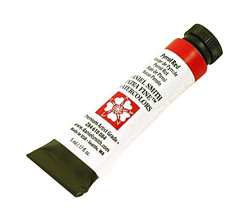 Daniel Smith Watercolour 5 ml Tube (S3) - Pyrrol Red (084) - Red 5 Ml-tube