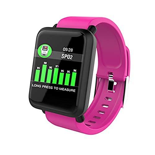Ears Herren Fitness Uhr Elegant Fitness Tracker Uhr Outdoor Armbanduhren Kamera mit Herzfrequenz Bluetooth Smartwatch Smart Watch M28 Smart Armband Pulsuhr Blutdruck Fitness Tracker