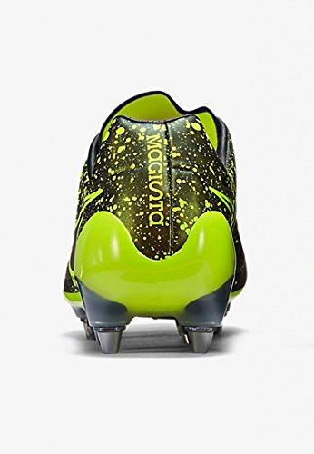 Nike Magista Opus SG-PRO, Scarpe da Calcio Uomo, Verde, UK Oro / Verde / Nero (Dark Citron / Volt-Black-Black)