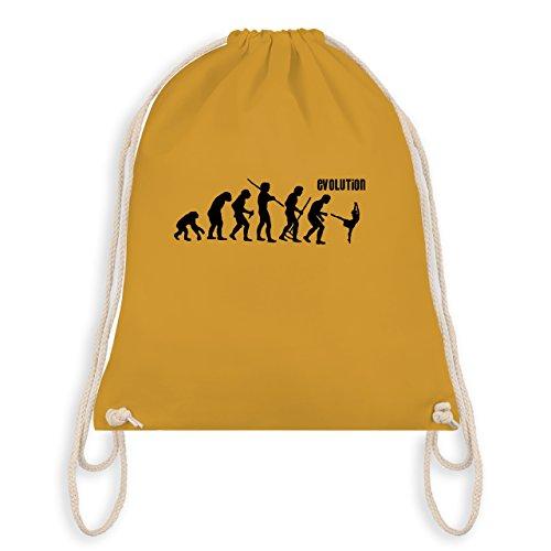 (Evolution - Modern Dance Evolution - Unisize - Senfgelb - WM110 - Turnbeutel & Gym Bag)