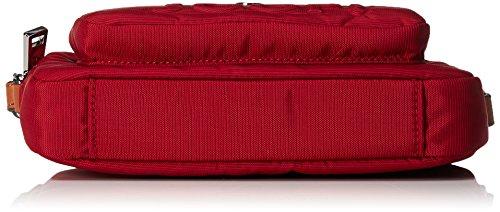 Joop! - Nylon Naviga Manu Shoulderbag Shz, Borsa a spalla Donna rosso (rosso)