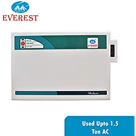 Everest 4 KVA Deluxe Voltage Stabilizer Used Upto 1.5 ton AC Working Range : 170 V to 270 V  100% Copper