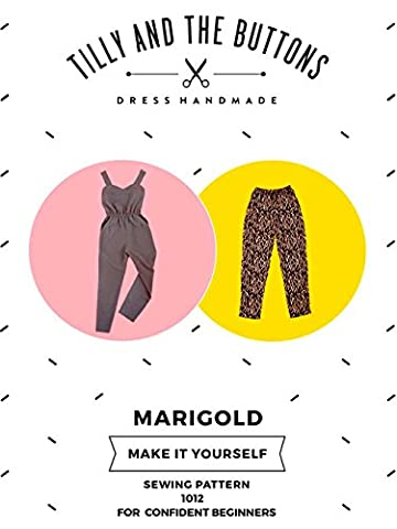 Tilly and the Buttons Marigold Jumpsuit & Trousers Sewing Pattern