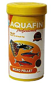 Aquafina Micro Pellet Fish Food - 250Ml