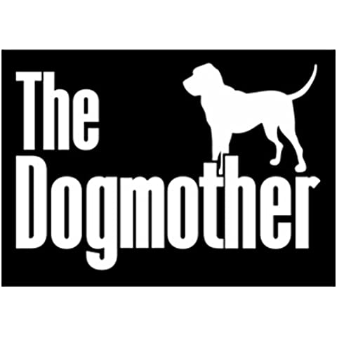 Teeburon The dogmother Bloodhound Vinyl Decal