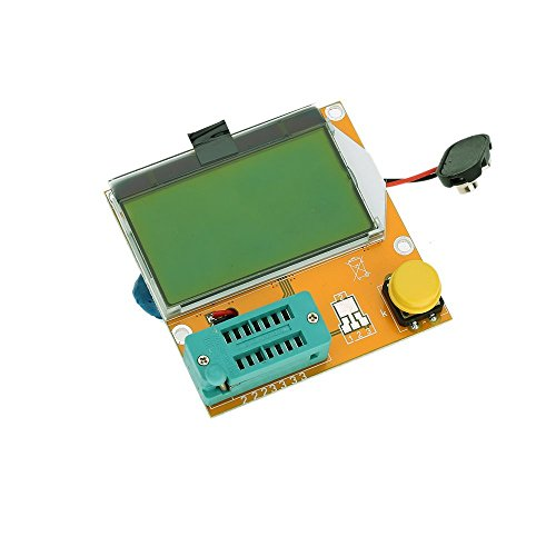REFURBISHHOUSE Multifunktion LCD Hintergrundbeleuchtung Transistor Test Diode Triode ESR Kapazitaetsmessgeraet MOS PNP NPN LCR Transistor-test