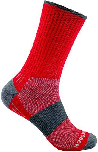 Wrightsock Escape Crew Socks red Schuhgröße M | EU 37,5-41 2019 Socken -