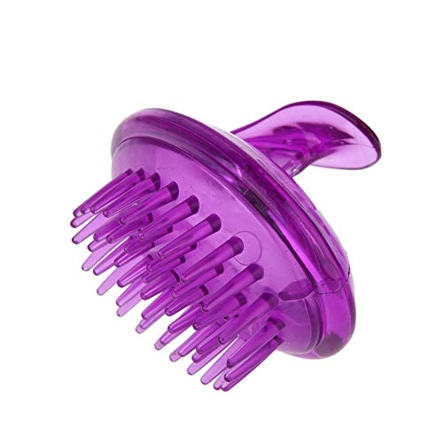 Haushalt Haar-Kopfhaut-Massagegerät Shampoo-Bürste, Hand Kopfhaut-Massagegerät Shampoo-Bürstenkopf-Massagegerät Weiche Silikonkamm Für Männer Frauen Kinder (Elektrisches Glas-kopfhaut-massagegerät)