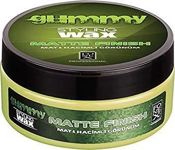 FONEX GUMMY STYLING Soft Clay Hair Wax Matte Look Finish 150 ml