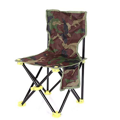 Tragbaren Klapp Camping Stuhl, aus Segeltuch, es ist robust und langlebig, mit Tasche, ideal für Outdoor, Picknick, Grill, Angeln, cool, Skizzieren