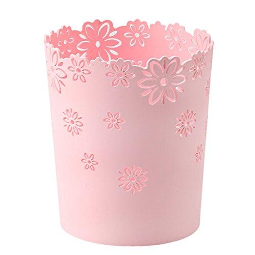 Tosbess Papierkorb Mülleimer Abfalleimer Papiereimer für Büro/Badezimmer/Küche/Schlafzimmer