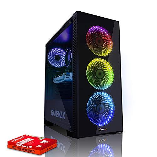 Fierce Sniper RGB Gaming PC - Schnell 4.6GHz Hex-Core Intel Core i7 8700K, 1TB Festplatte, 16GB 2666MHz, NVIDIA GeForce GT 1030 2GB, Windows Nicht Enthalten 947624