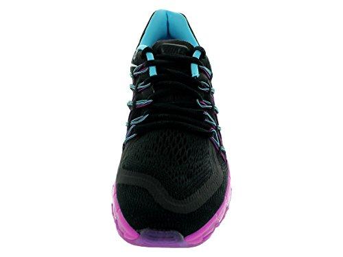 Nike Air Max 2015, Baskets mode femme Black/White/Clearwater/Fuchsia Flash