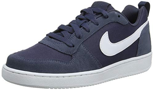 Nike Baby Jungen Court Borough Low Pe (gs) Basketballschuhe, Blau (Thunder Blue/Thunder Blue/Pale Ivory 400), 36 EU