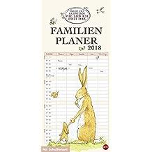 Weißt du eigentlich wie lieb ich dich hab? Familienplaner - Kalender 2018: Weißt du eigentlich wie lieb ich dich hab? Familienplaner 2017
