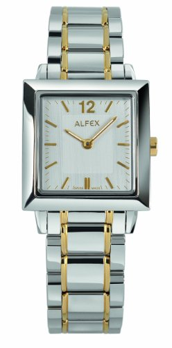 Alfex – 5700 _ 043 – Ladies Watch – Analogue Quartz – Grey Dial – Grey Steel Bracelet