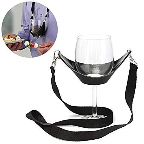Weinglas-Schlüsselband