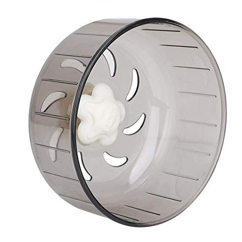 Ruota criceto, 13 cm ruota corsa per criceto ruota tapis roulant in plastica muta design aerodinamico piccola ruota per esercizi...