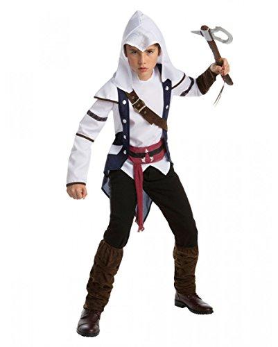 Horror-Shop Assassins Creed Connor Teen Kostüm für Fasching & Halloween Teen
