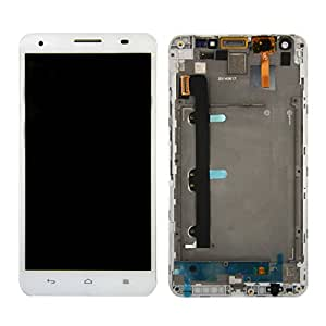 SKILIWAH®écran complet pour Huawei Honor 3X G750+OUTILS+LCD +VITRE TACTILE+SUPPORT blanc