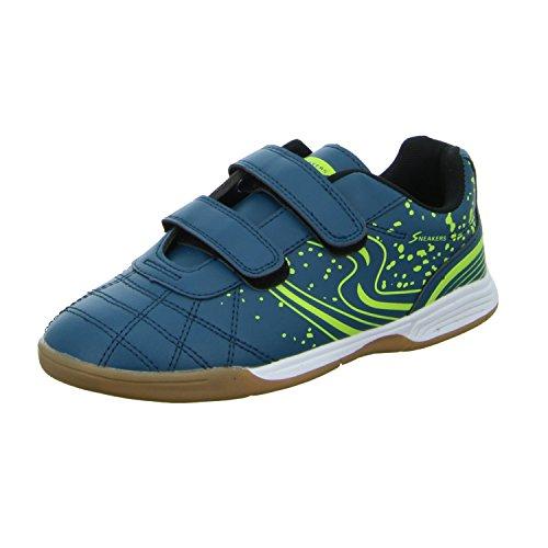 Sneakers 1744 Jungen Indoor Blau (Blau)
