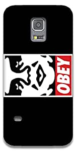The Racoon Lean OBEY hard plastic printed back case / cover for Samsung Galaxy S5 Mini