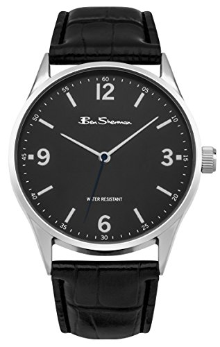 ben-sherman-mens-bs128-quartz-watch-with-black-dial-analogue-display-and-pu-strap