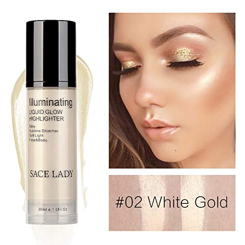 Allbesta - Crema iluminadora maquillaje facial corporal