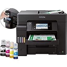 Epson EcoTank ET-5800, Stampante Multifunzione, Stampa Fronte/Retro, Scansione, Copia, Fax, Formato A4, ADF, 2 Vassoi Frontali da 250 Fogli, Wi-Fi, LCD 10.9 cm