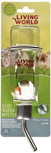 Living World Glastränke geeignet für Hamster, Gerbils und Mäuse - 2