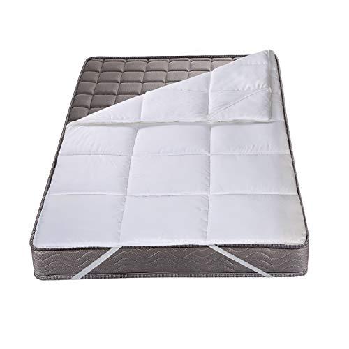 Woltu mts03ws01 coprimaterasso traspirante igienico protezioni per materassi tappetino comfort 90x200x2cm