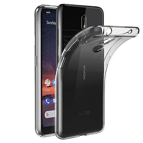 VGUARD Hülle Case Kompatibel für Nokia 3.2, Premium Transparent Tasche Schutzhülle Weiche TPU Silikon Gel Schutzhülle Case Cover für Nokia 3.2