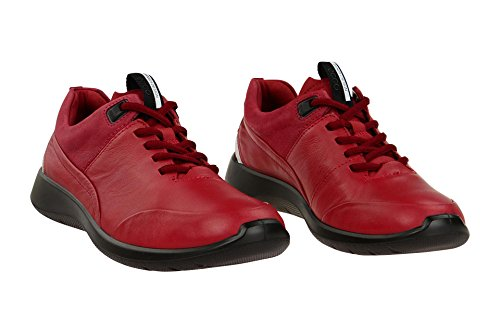 newest efaeb 3c9bc Ecco Damen Soft 5 Sneaker Rot Brick/Brick -simmeth-vertrieb.de