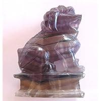 Tempelwächter sitzend Fluorit lila 7,5 cm preisvergleich bei billige-tabletten.eu