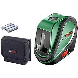 Laser lignes Bosch - UniversalLevel 2 (Livré avec piles et poche, portée 10m, mise à niveau auto)