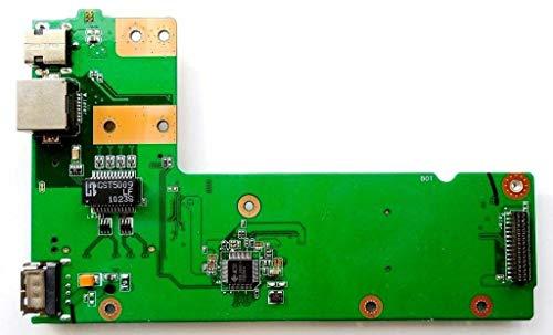 Generic Kompatibel für Jack DC ASUS K52F K52JB K52JC K52DR K52N Power Button USB LAN Board 3DKJ3DB0000