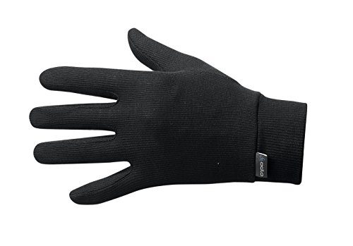 Odlo Herren Gloves Warm, Black, M, 10640
