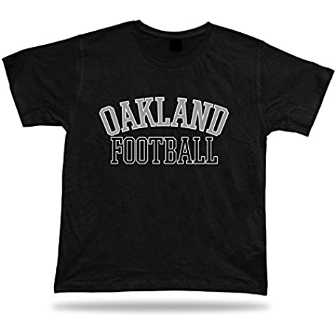 disegno Oakland CALCIO t-shirt tee California stadio abbigliamento stile USA
