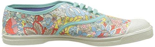 Bensimon - Tennis Lacet Liberty, Basse Donna Multicolore (Imprime Pastel)