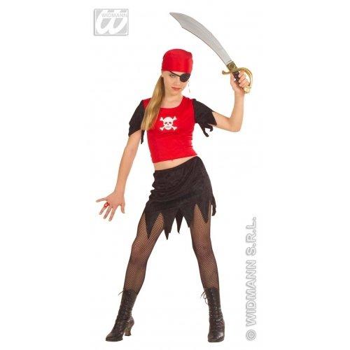 widmann-wdm55617bañador para niño, Color Negro y Rojo, wdm55617