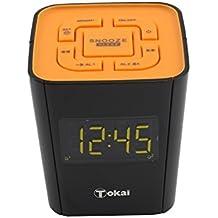 TOKAI - TC -135KO Radio -Réveil - Tuner Digital avec Présélections - orange