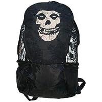 Misfits, Black Skull Logo, fotocamera - Plastica Morbida Borsa