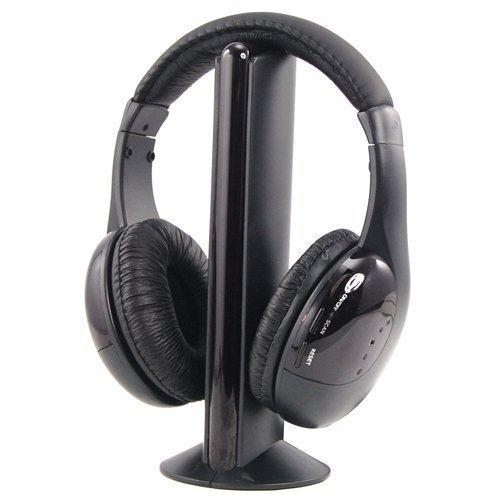 Akai CW04 Auricular con micrófono Binaural Diadema Negro - Auriculares con micrófono (Media/Comunicación, Binaural, Diadema, Negro, Giratorio, Inalámbrico y alámbrico)